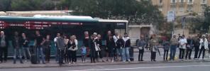 bus queue valletta