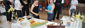 Healthy snacks for Le Meridien PA Bookers Club at the Spa