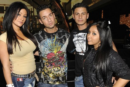 "Pauly Delvecchio,Mike ""The Situation"" Sorrentino,Nicole ""Snooki"" Polizzi,Jenni ""J-Woww"" Farley"