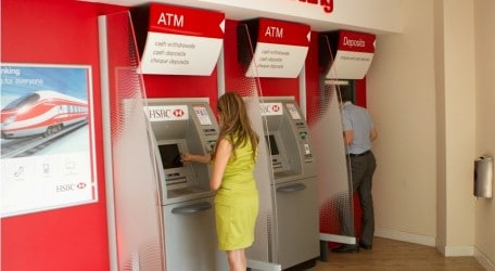 74 - HSBC's in-branch ATMs upgraded by end 2012