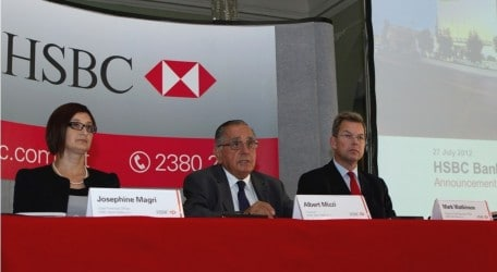 84 - HSBC Bank Malta plc Interim Results 2012 - 27 July - 01