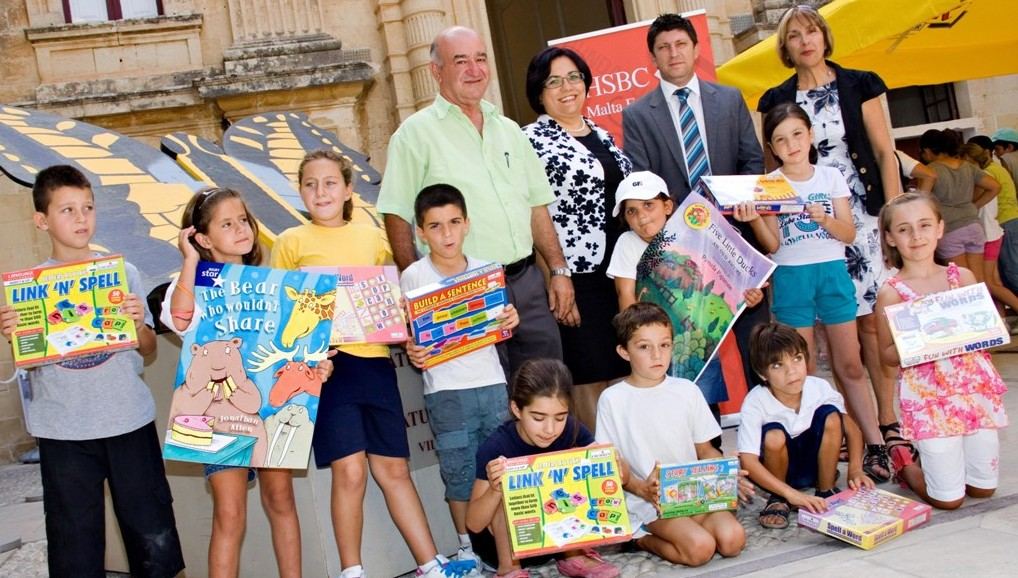 HSBC Malta Foundation sponsors learning tools for Klabb Sajf - 01