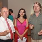 Ambassador George, Lida Sherafatmand, Ulli Salomo