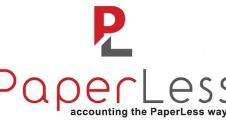 PaperLess logo
