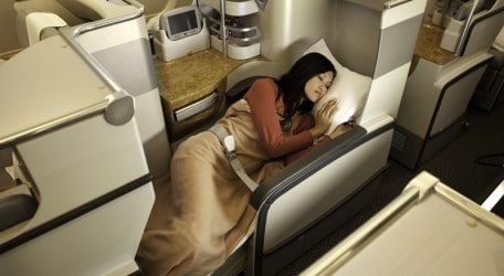 83 - Business Class on A380