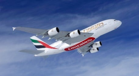 96 - Emirates Group announces half yearly profits - A380
