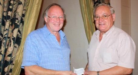 RHS donation President's Award