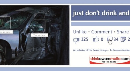 The Sense Group - just don't drink and drive - CRASH
