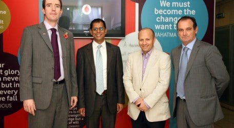 128 - Biritish High Commissioner and Vodafone Members