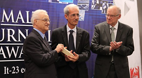 IGM MJA 2013 Gold Award presentation