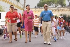 HSBC Malta employees complete triathlon in aid of L-Istrina - IMG_3227