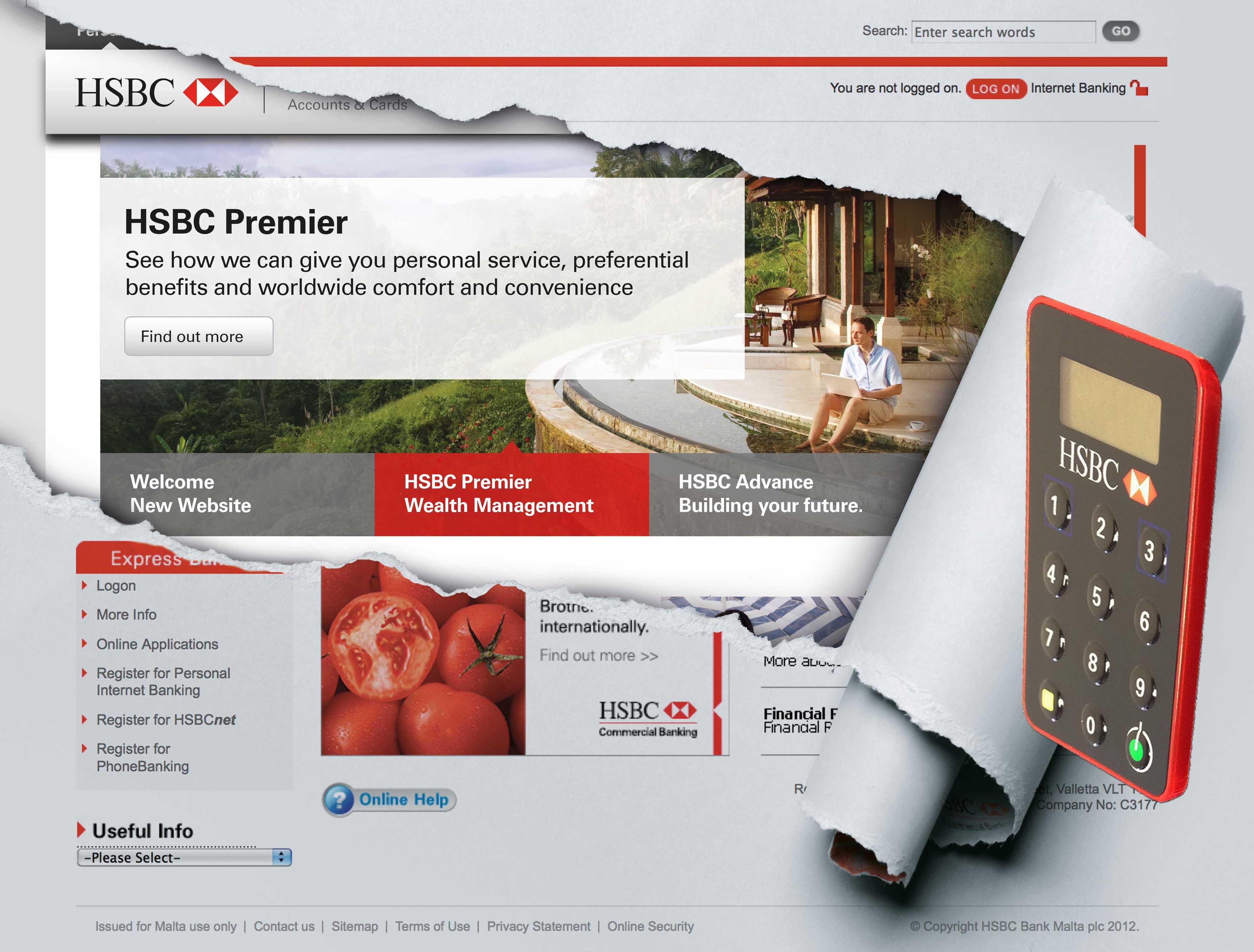 Josanne Cassar | New HSBC Malta website and Personal
