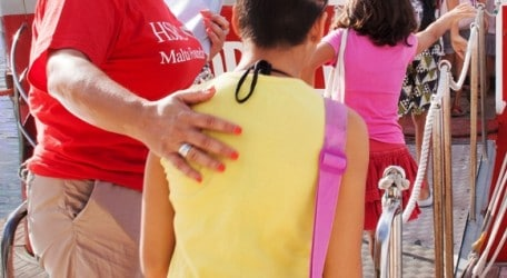 113 - HSBC Malta treats underprivileged children to a day out at sea - Photo 1