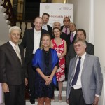 ITSMalta Board members with Austrian Ambassador Petra Schneebauer