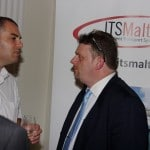 ITSMalta board member Alex Borg (right) with Alex Grixti from Nectar Group