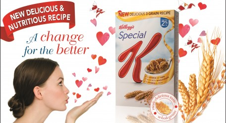 Kellogg's Special K introduces a new three grain cereal