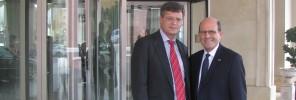 Professor Jan Peter Balkenende & Michael Camilleri Kamsky