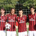 Zaive with AC MIlan
