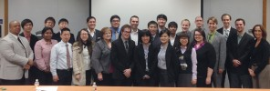 Dallas Baptist University group photo