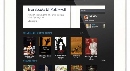 NEMO Media launches Maltas first book platform - 1700