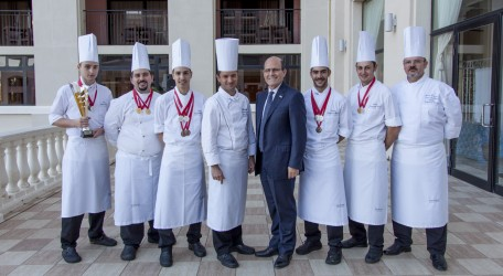 Westin Chefs with General Manager Michael Camilleri Kamsky
