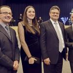 Dennis Gravina, Amanda Xuereb, Joseph Abdilla, and Vincent Borg