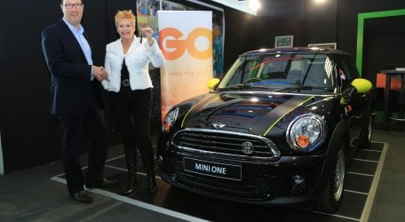 GO Competition winner lands MINI One - 1