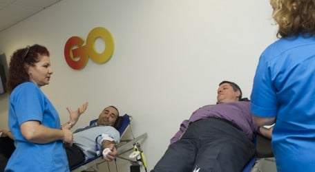 11 - GO employees donate blood to save lives - 1