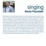 Kevin Fountain Info
