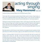 Mary Hammond Info