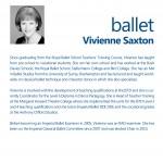 Vivienne Saxton Info