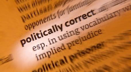 Concept - politically correct