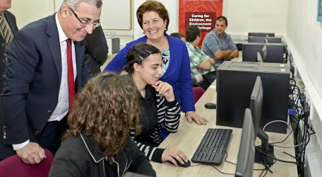 42 - HSBC Malta Foundation supports IT Lab for disadvantaged youth