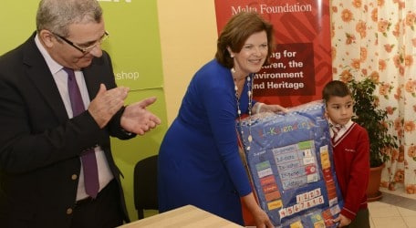 45 - HSBC - Launch of Multi-Sensory Calendar in Maltese