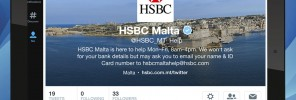 64 - HSBC Malta helps customers in real-time via Twitter