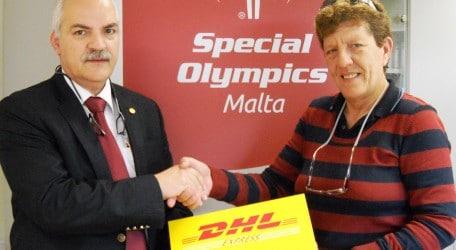 pr dhl Special Olympics presentation