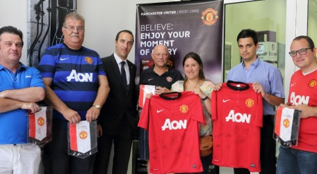 38 - MU 3rd from Left Rueben Bezzina Banif Area Manager with winners