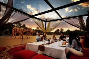 Arabian Dreams - Breakfast at sunrise