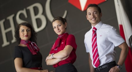 88 - New HSBC staff uniform collection - BC5Q9382