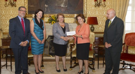 96 - HSBC Malta Foundation supports President IMG
