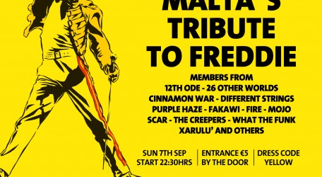 Freddie For A Day - Tribute flyer (2)
