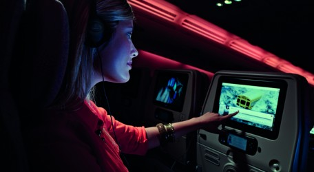 68 - Emirates inflight entertainment in Economy Class
