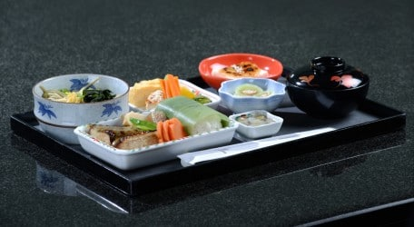70 - Emirates serves its First Class and Business Class menus on specially designed crockery(1)