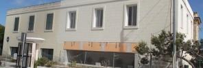 facade after