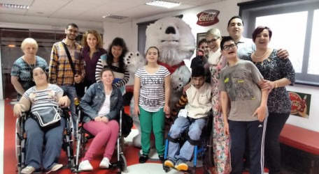 14 - MCAST students with special needs look into production practices at GSD Marketing
