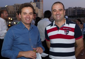 Kurt Camilleri Chief Commercial Officer and Arthur Azzopardi, Chief Corporate Strategy & Business Development Officer