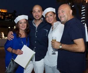 Gina Vella, Patrick Gatt, Pearl Vella and Charles Vassallo