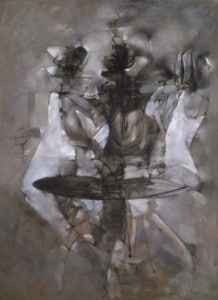 A Mi-Voix 1958 by Dorothea Tanning 1910-2012
