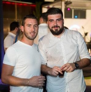 Matteo Bianci and Kyle Caruana