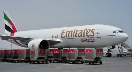 83 - Emirates SkyCargo named Overall Carrier of the Year for third year